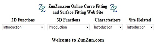 Ruander com: Free Curve Fitting Online