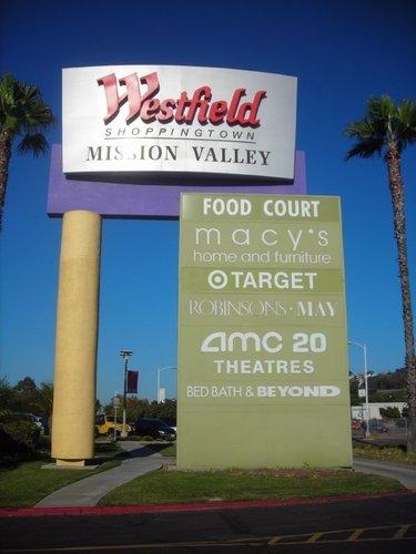 清清的世界旅行圖鑑 美國西海岸 聖地牙哥 時尚河谷購物中心 Fashion Valley Mall