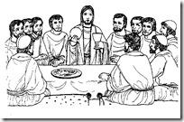 ultima cena dibujos (6)