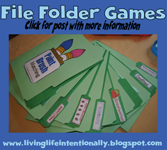 road trip game s- file folder games