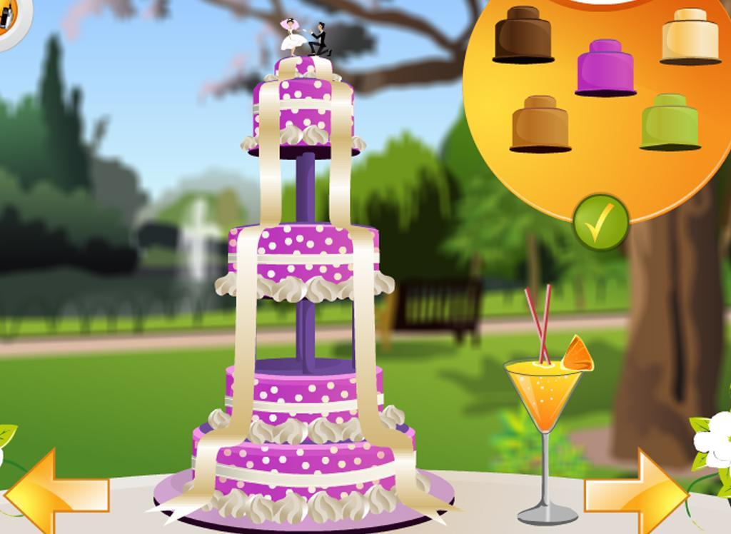 Wedding cake decoration game android apps on google play for Decoration games