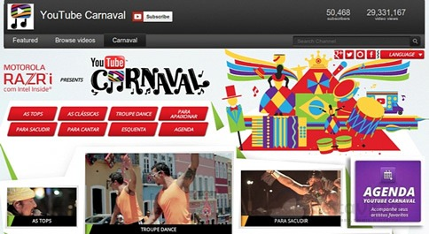 YouTube Carnaval