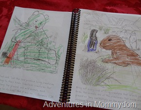 Apologia Junior Journal coloring pages