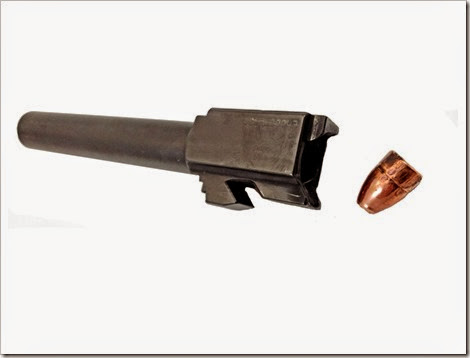 Barrel and Bullet (Medium)
