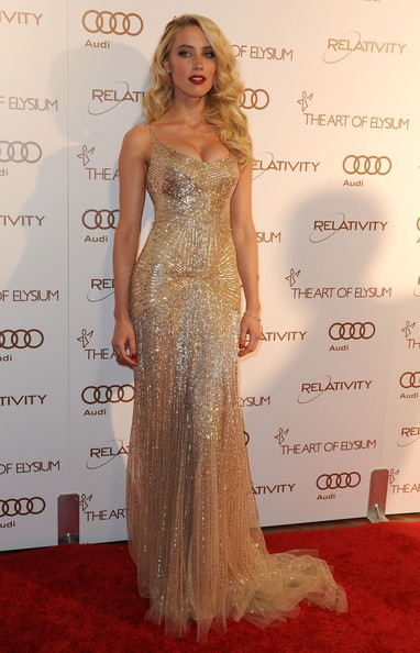 Amber Heard arrives at The Art Of Elysium's 5th Annual Heaven Gala