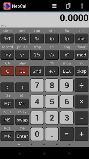 NeoCal Scientific Calculator