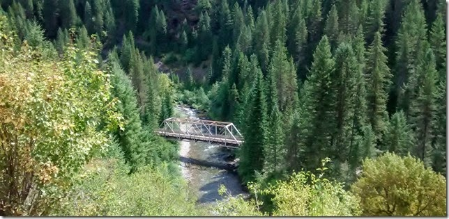 Bridge near North Forks ID
