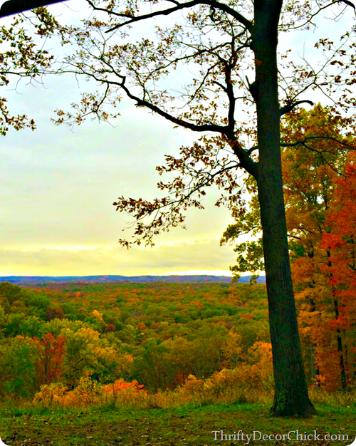 Indiana fall colors