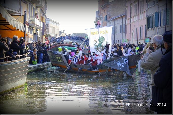 Carnevale sull'acqua 2014 a Comacchio, foto2