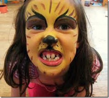 maquillaje tigre todohalloween (5)