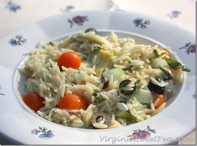Orzo Salad8