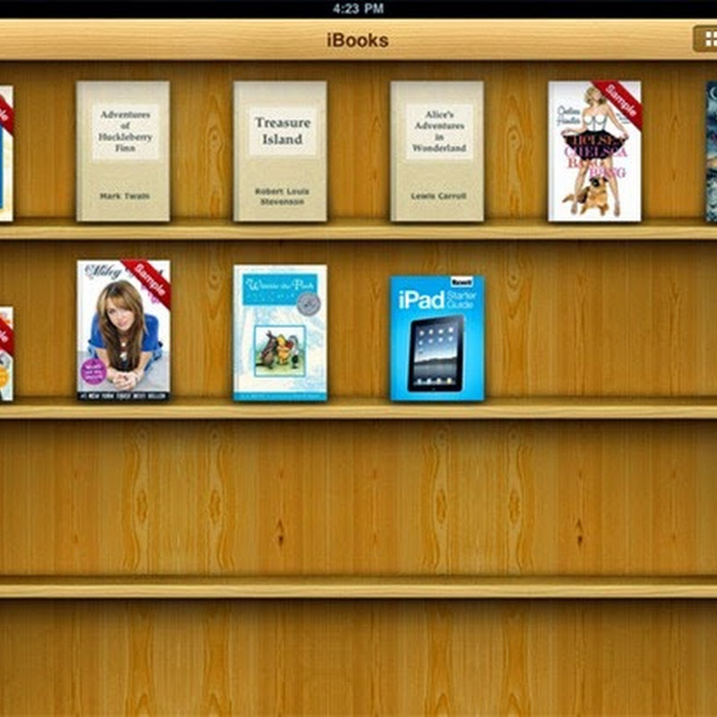 iBooks incredibile strumento per il download e la lettura di libri.