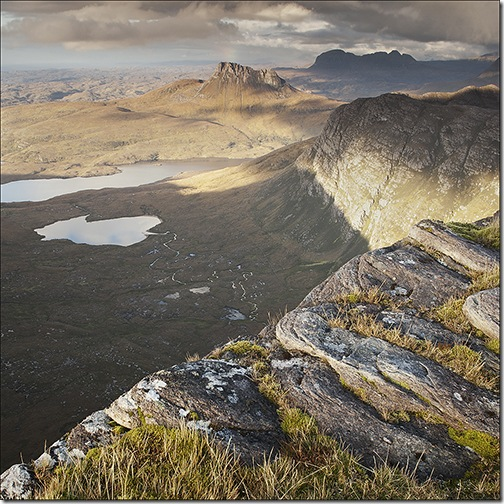 TOWARDS STAC POLLAIDH by Stuart Thompson 2nd in pdi  section