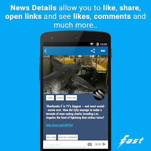 Fast (client for Facebook ©) - screenshot thumbnail