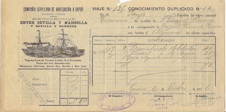 Conocimiento de embarque del vapor CIERVANA. Colección Manuel Rodriguez Aguilar. Del libro de referencia.jpg