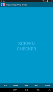 Screen and Dead Pixel Checker