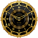 VICTUM Luxury Clock Widget icon