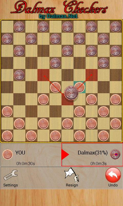 Checkers (by Dalmax) - screenshot