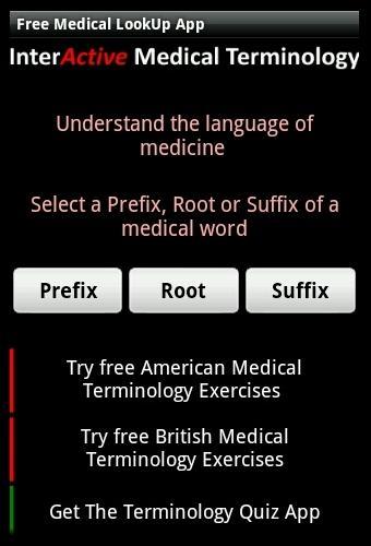 Learn Medical Terminology 1.5 screenshots 2