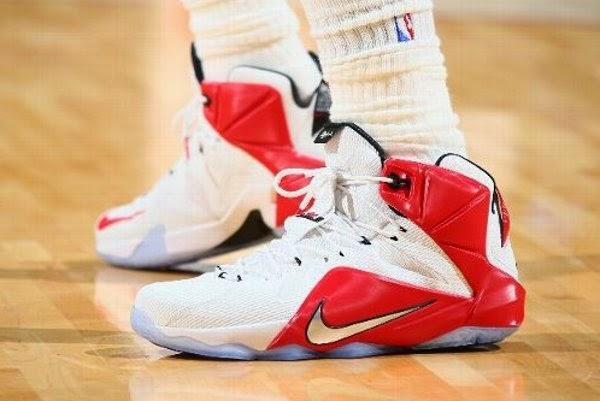 2b4855ed9c9 King James Debutes Already His 15th Version of Nike LeBron 12