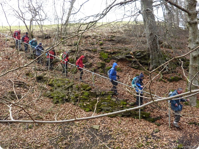 descending into shittlehope dene