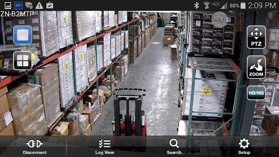 GanzView Mobile App - náhled