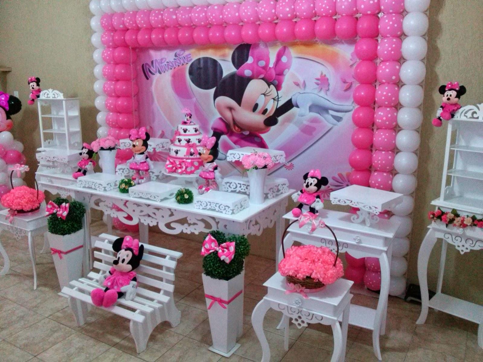 Minnie rosa provençal  CIFESTA DECORAÇÕES