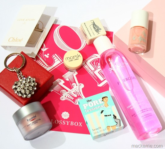 GlossyboxLoveEditionFebruar2015
