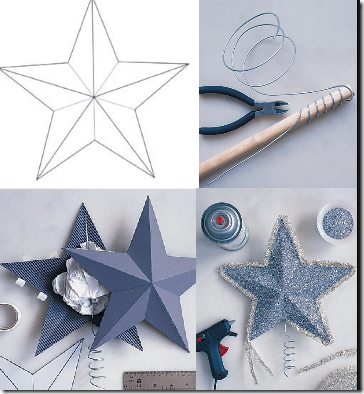 Manualidades Estrella 3d Con Moldes Todo Navidad