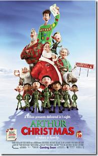 Arthur Christmas {Movie Review}