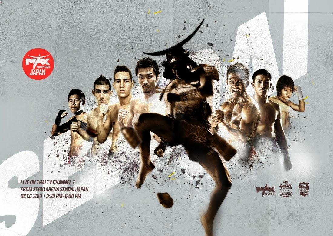 Max Muay Thai - 4, October 6th, 2013, Japan, Sendai