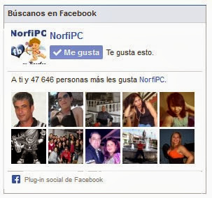 NorfiPC en Facebook