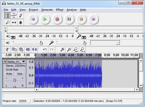 audacity-change-tempo
