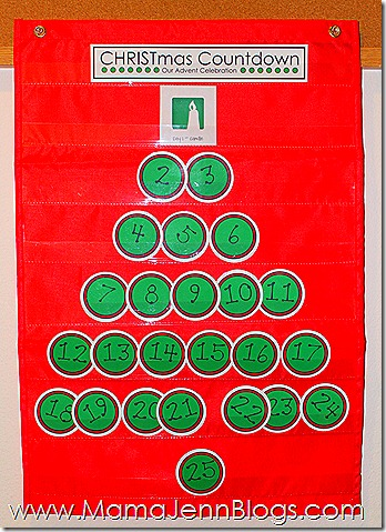 CHRSITmas Advent Countdown Printables (coordinating with Truth in the Tinsel)