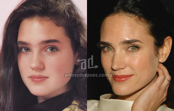 La nueva nariz operada de Jennifer Connelly