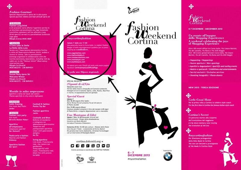 cortina fashion weekend, le 5 bloggers ufficiali, italian fashion bloggers, fashion bloggers, street style, zagufashion, valentina coco, i migliori fashion blogger italiani