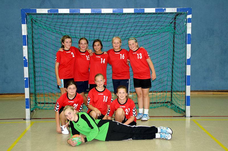 1. Weibliche D-Jugend 2012/2013