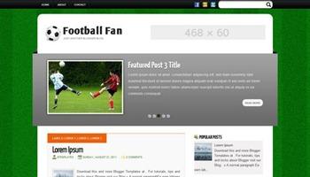 football blogger tempalte