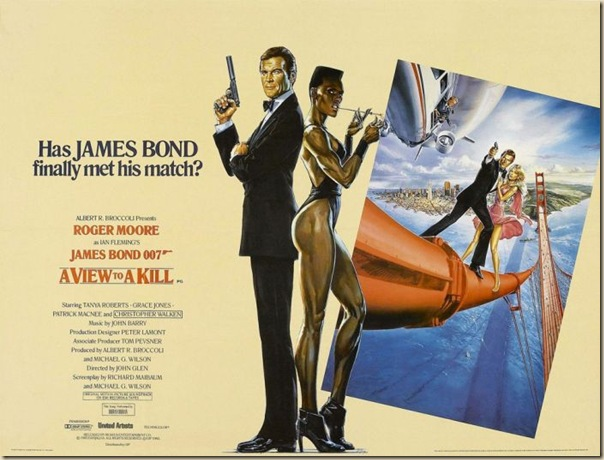 Affiche cinéma de James Bond (15)