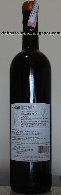 vinho da uva bonarda