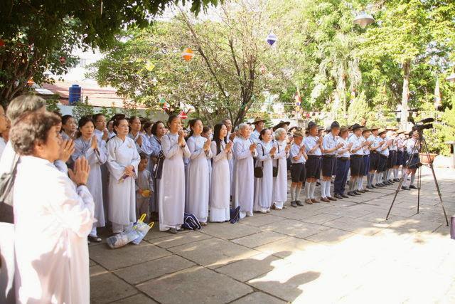 IMG 1707 Đại lễ Phật đản PL 2557 tại Tu viện Quảng Hương Già Lam