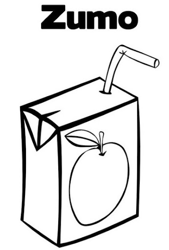 jugo de manzana para colorear auto electrical wiring diagramdibujos de zumos para colorear