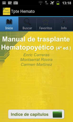 Trasplante Hematopoyético