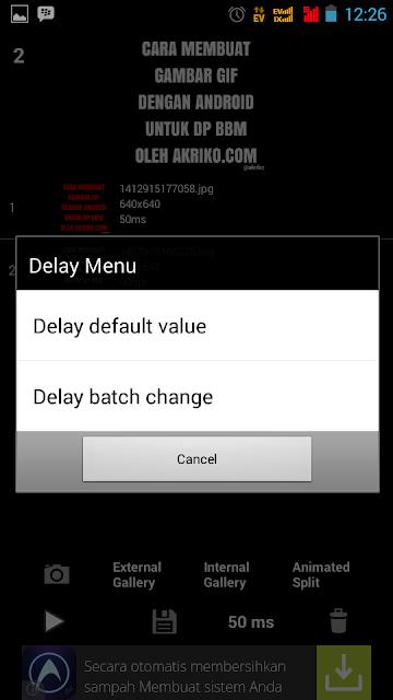 Aplikasi Membuat Gif untuk DP BBM pada Android