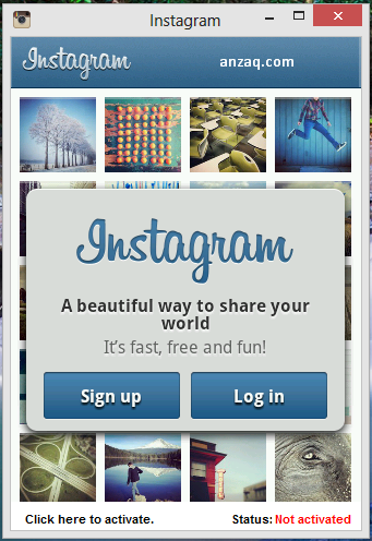 Download Instagram for Windows PC free Download
