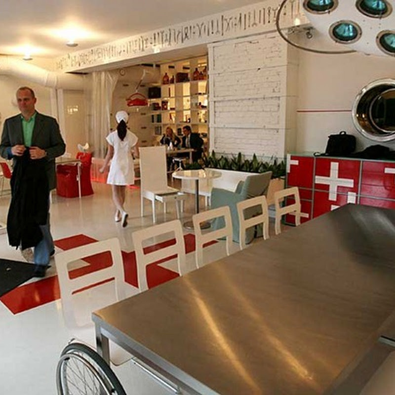Hospitalis, The Hospital Themed Restaurant in Riga