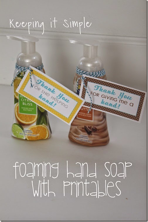 #ad Softsoap-Foaming-Handsoap-Gift-with-Printable #FoamSensations