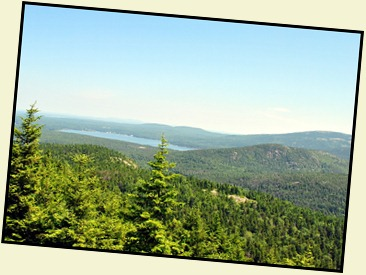 18n -  Somes Sound, Acadia & Norumbega Mountains