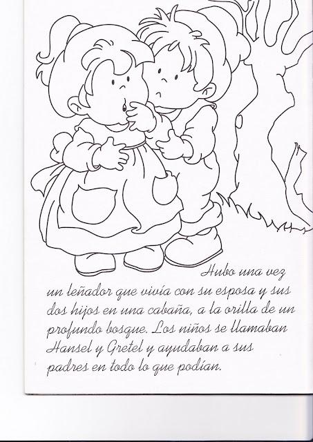 Carteles Y Dibujos De Cuentos Para Niños Para Colorear