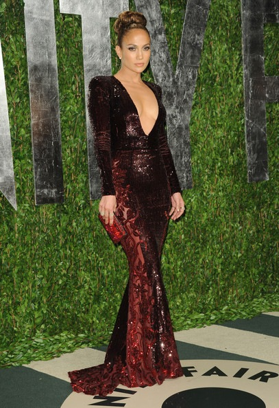 Jennifer Lopez 2012 Vanity Fair Oscar Party
